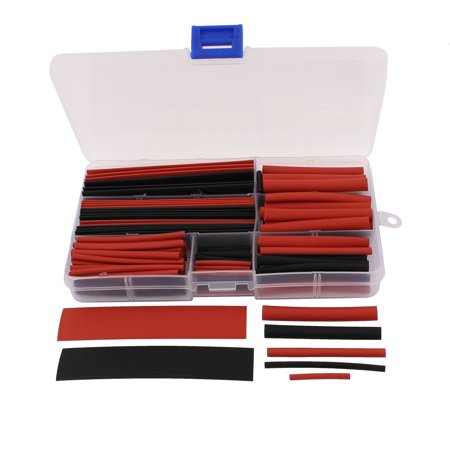150 Pcs Heat Shrink Heatshrink Wire Cable Tubing Tube Sleeving Assorted Sizes (Tying Wire)