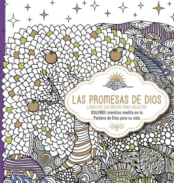 LAS PROMESAS DE DIOS: LIB RO DE COLOREAR PARA ADUL