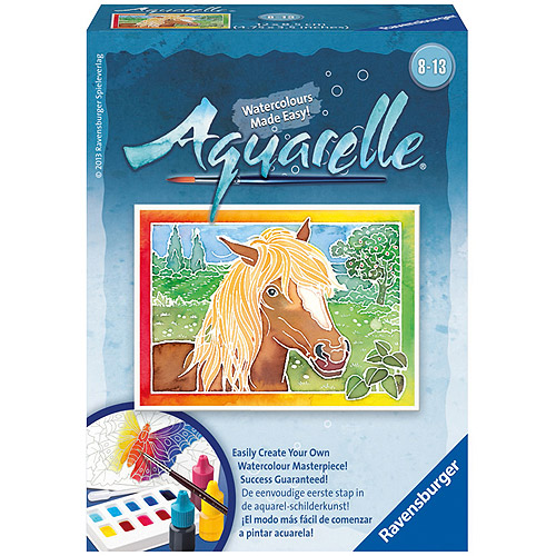 Ravensburger Aquarelle Watercolor Set, Horse
