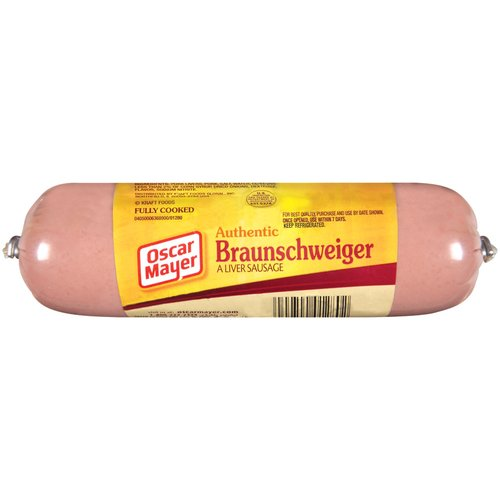 Oscar Mayer Authentic Braunschweiger, 8 oz