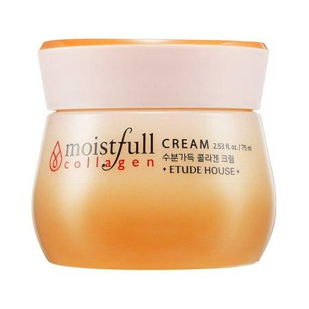 etude house moistfull collagen cream, 75ml/2.53 (Etude House Moistfull Collagen Water Jelly Cream)