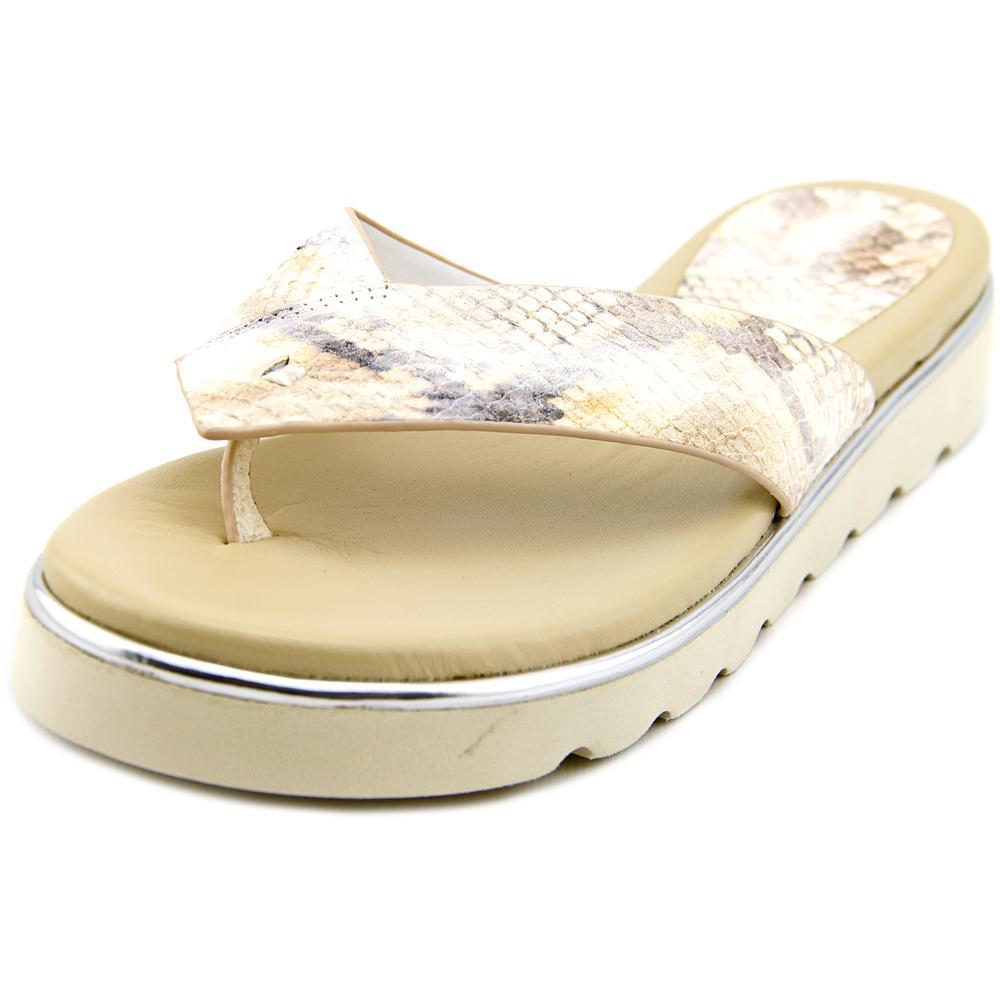 Donald J Pliner Liv2 Women Open Toe Leather Multi Color Thong Sandal by Donald J Pliner