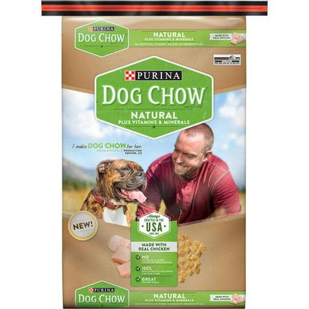 Purina Dog Chow Vitamines Natural Plus et minéraux Nourriture pour chiens 32 lb Sac