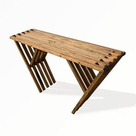 Golden Buffet (GloDea Xquare X60 Outdoor Wooden Buffet Table )