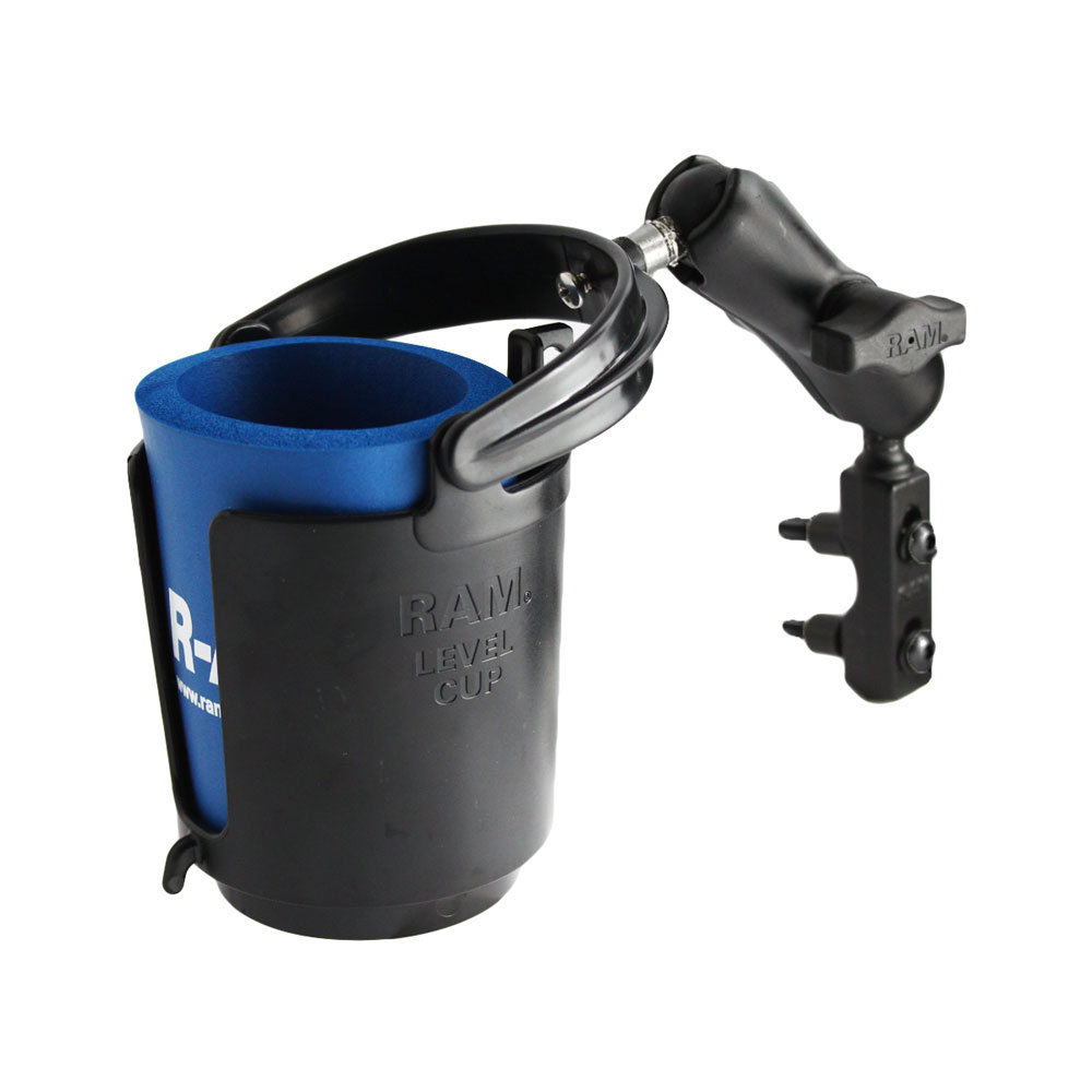 RAM MOUNT DRINK CUP HOLDER W/ GOLDWING UBOLT MOUNT
