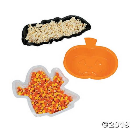 Halloween Shaped Serving Trays Halloween Holiday & Seasonal fall Decor