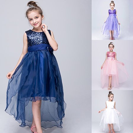 36f7dff6aff bluelans - Kid Toddler Girl Sequined Flower Birthday Wedding Party Formal  Princess Dress - Walmart.com