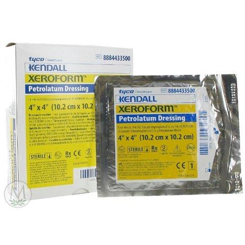 "Petrolatum Gauze (4""x4"") (Box of 25), Xeroform Petrolatum..."