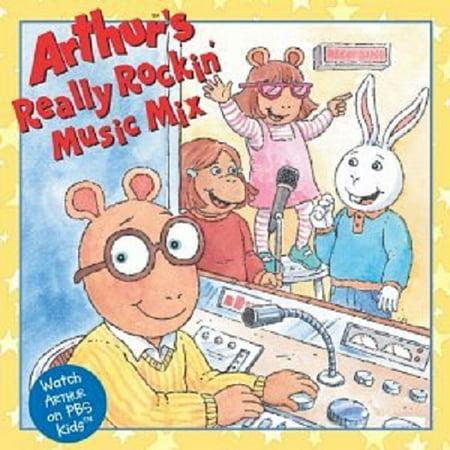 Arthur's Really Rockin' Music - Kid Friendly Halloween Music Mix