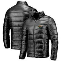 Minnesota Wild Fanatics Branded Polyester Puffer Jacket - Black