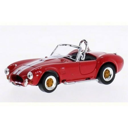 - 1964 Shelby Cobra 427S/C Convertible, Red w/ Stripes - Road Signature 94227 - 1/43 Scale Diecast Model Car