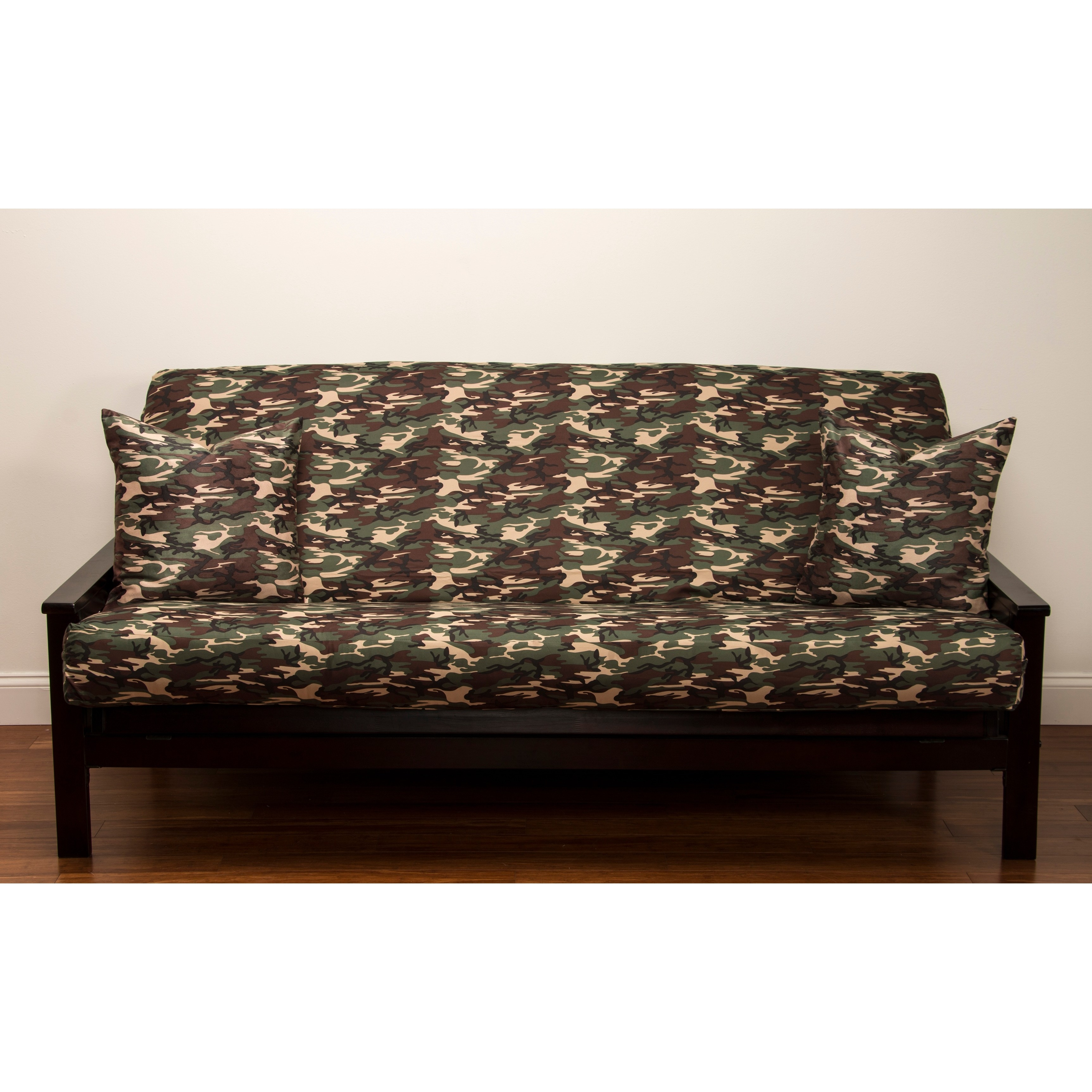 SIScovers Galaxy Camo 7-inch Deep Full-size Futon Cover - Full