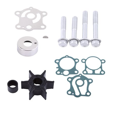 TMISHION Top Performance Waterproof Motor Water Pump Repair Rebuild Impeller Kit For Yamaha 40 50 hp Outboard 1984-1994 (Used 30 Hp Yamaha Outboard For Sale)