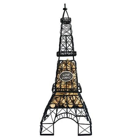 KOVOT Eiffel Tower Wine Cork And Bottle Holder - 25
