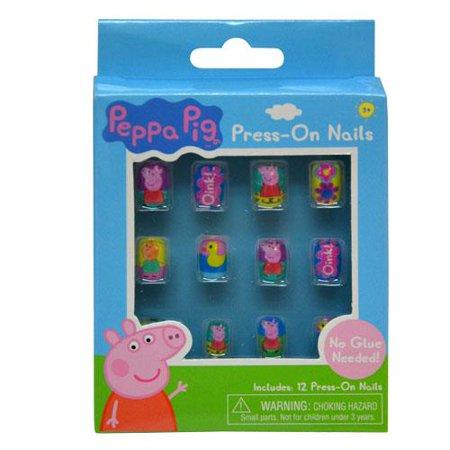 Peppa Pig Press- On Nails