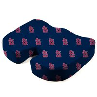 St. Louis Cardinals Memory Foam Seat Cushion - Blue - No Size