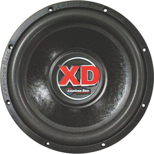 "American Bass XD-1244 1000 Watt 12/"" Car Audio Subwoofer+Vented Sub Box Enclosure"