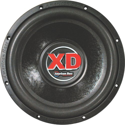 "American Bass XD-1244 12"" 1,000 Watts Max Power Dual 4 Ohm XD Series Car Subwoofer"