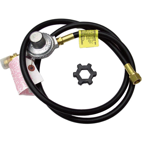 Enerco - Mr Heater F273071 5' Propane Hose With Regulator Assembly
