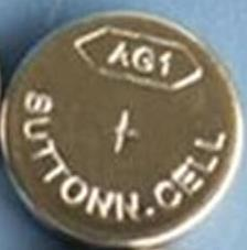 AG1 / LR621 Alkaline Button Watch Battery 1.5V - 10 Pack - FREE SHIPPING
