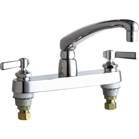 commercial grade kitchen faucets chicago faucets 1100 369ab chrome commercial grade kitchen faucet walmart com 6410
