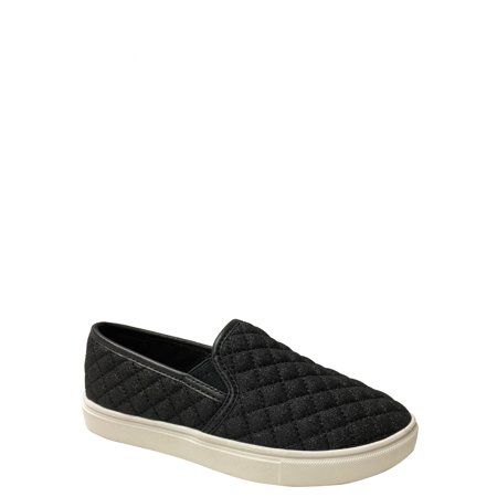 Girls' Wonder Nation Casual Quilted Glitter Slip On - Vans Slip On Girls