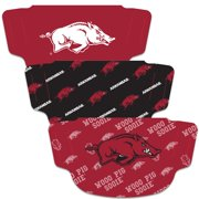 Arkansas Razorbacks WinCraft Adult Face Covering 3-Pack