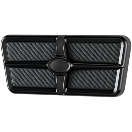 Billet Products Brake Pedal - BILLET SPECIALTIES 199477 Pedal Pads and Components Brake Pad Black