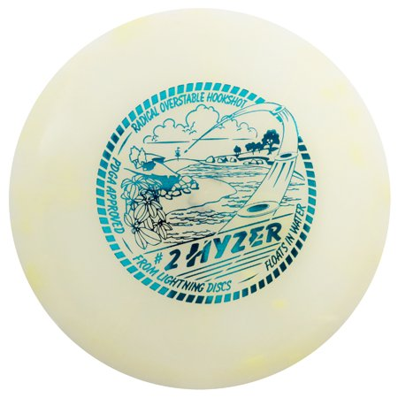 Lightning Golf Discs #2 Hyzer Midrange Golf Disc [Colors may vary] - 170-175g