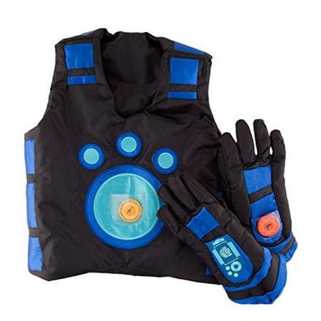 Wild Kratts Blue Creature Power Suit - Large - Mafia Pinstripe Suit