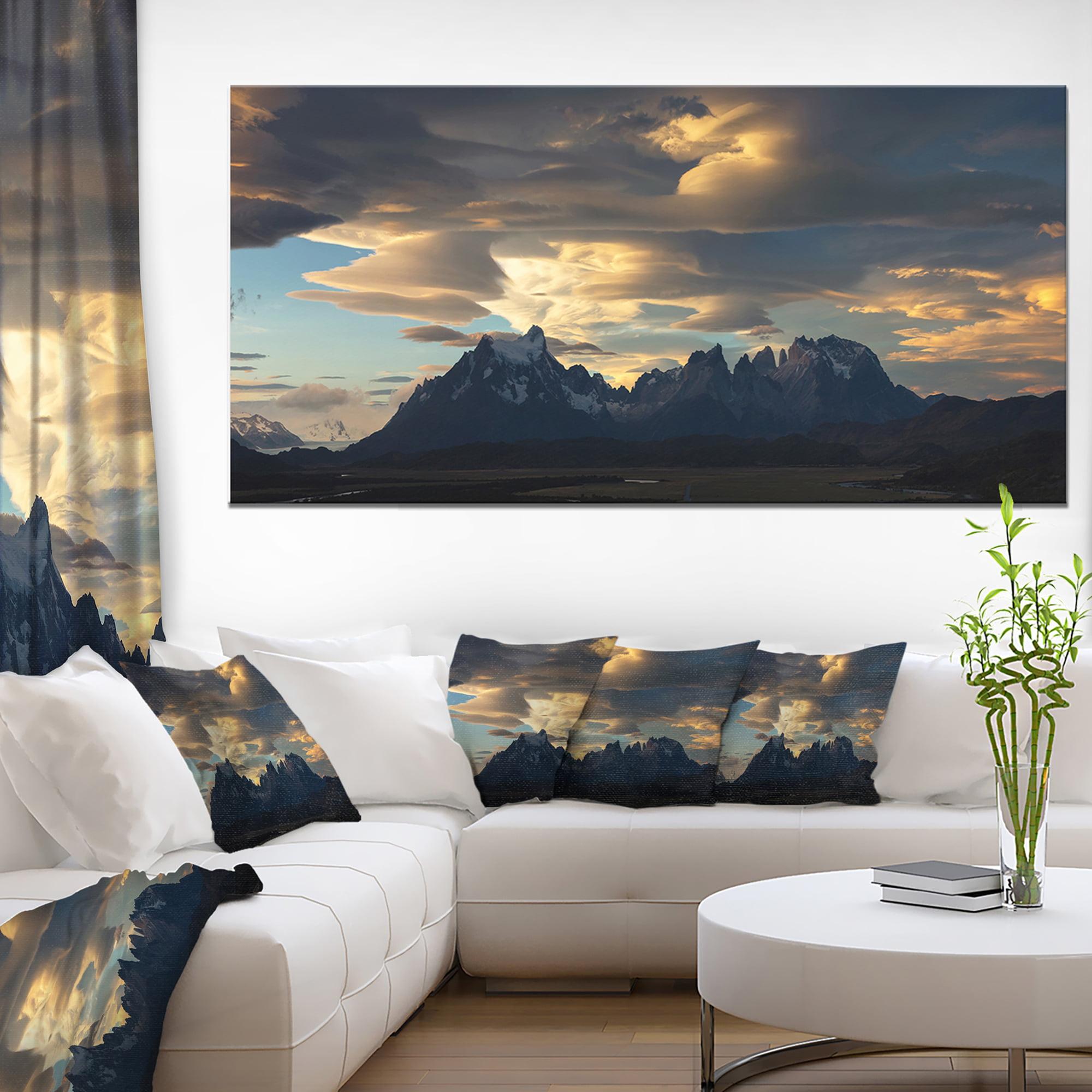 Torres del Paine National Park - Landscape Artwork Canvas - image 3 de 3