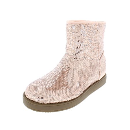 G by Guess Womens Asella Sequined Faux Fur Lined Casual Boots](Sequin Womens Boots)
