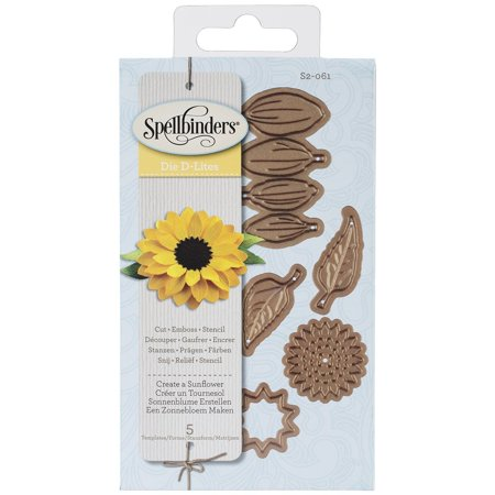 s2 061 shapeabilities create a sunflower scrapbooking template