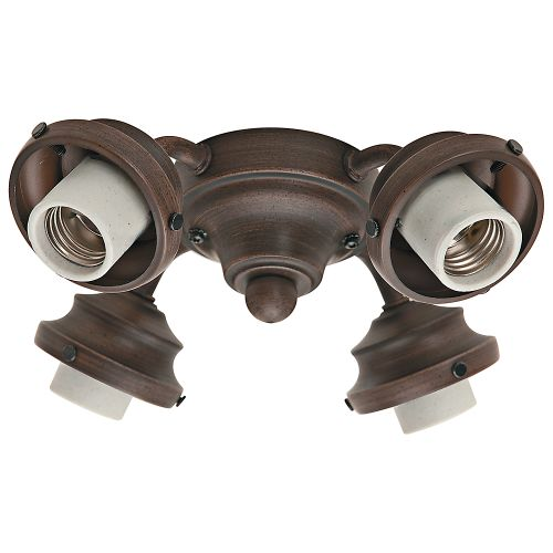 Hunter Fan Company 99144 4 Light Fitter, Cocoa