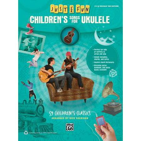 Children's Songs for Ukulele : 59 Children's Classics - Classic Children's Halloween Songs