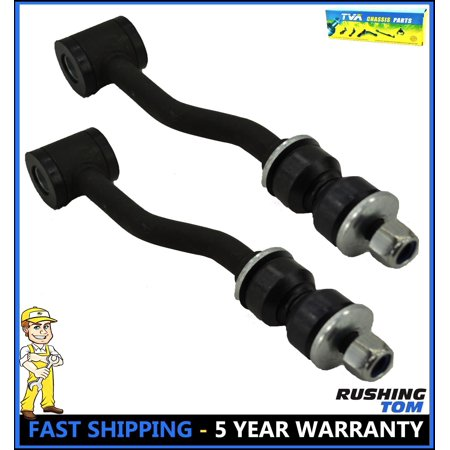 Alloy Steering Links - New Set of 2 Front Sway Bar Links Steering Kit For Jeep Cherokee 1996-2001 K3174