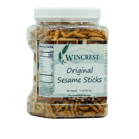 Original Sesame Sticks - 1.5 Lb (24 Oz) -