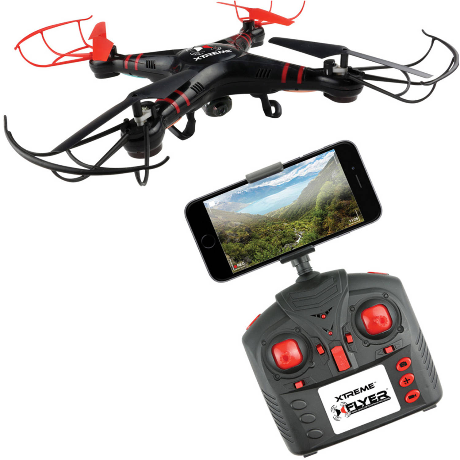 Xtreme Cables Quadcopter Drone with WiFi and Video
