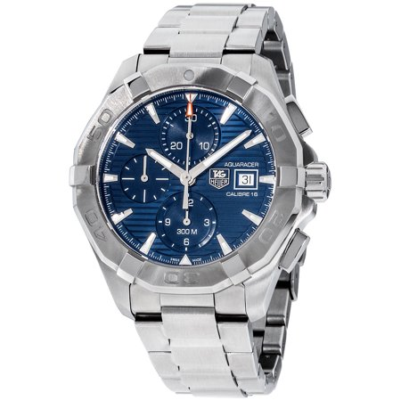 Tag Heuer Mens Link (Tag Heuer Aquaracer Blue Dial Stainless Steel Men's Watch CAY2112.BA0927)