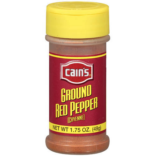 Cain's: Ground Red Pepper Spice, 1.75 Oz