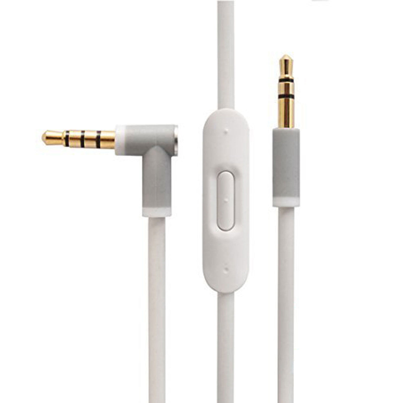 3.5mm Replacement Audio Cable Cord Wire For Beats By Dr Dre PRO DETOX Headphones White