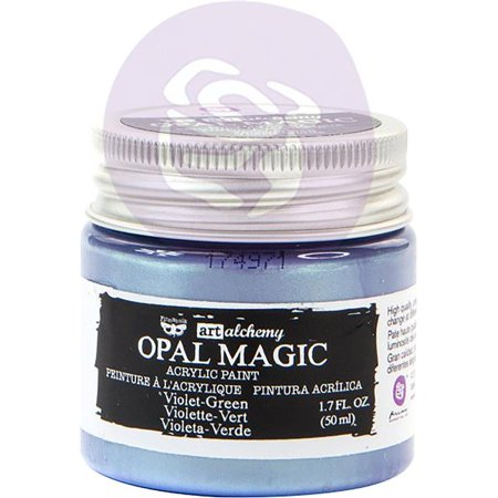 Finnabair Art Alchemy Opal Magic Acrylic Paint 1.7 Fl Oz-Violet/Green](Magic Paint Kaleidoscope)