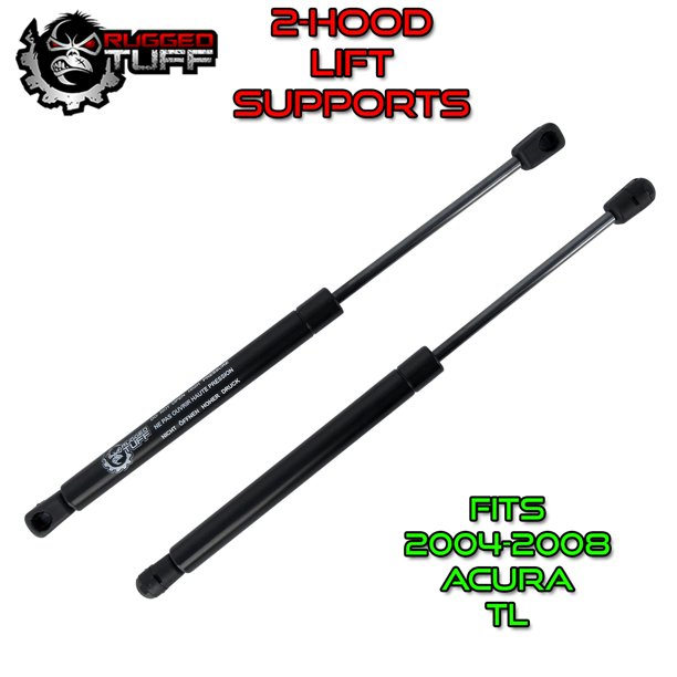 Lift Support Shocks For Acura TL 2004-2008 Front Hood Prop