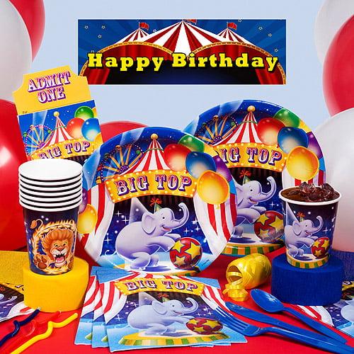 Big Top Birthday Deluxe Kit N Kaboodle