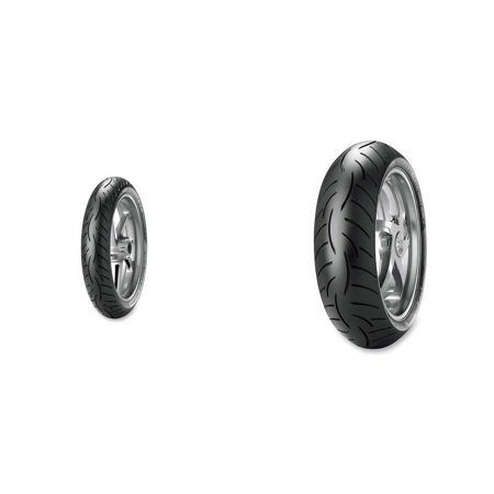 METZELER Roadtec Z8 Interact Front & Rear Tire Set, 120/60ZR17RM (55W) & 160/60ZR18RM