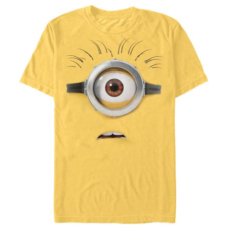 Despicable Me Men's Minion Costume T-Shirt](Minion Shirts Adults)