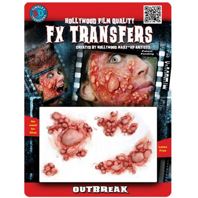 Costumes for all Occasions DFXM512 Outbreak 3d Prof Tattoo