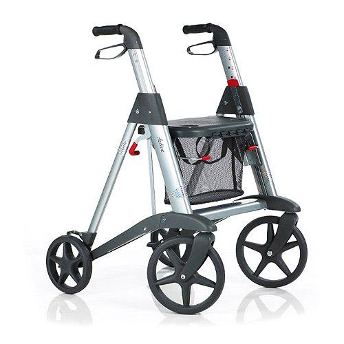 Image of Active Access Rollator Kit- 1- Active rollator 1- Backrest 1-Cushion set 1- cane holder 1- Umbrella holder