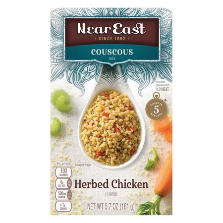 Near East Couscous Mix - Herb Chicken - Pack of 12 - 5.7 (Kentucky Fried Chicken 11 Herbs And Spices Recipe)