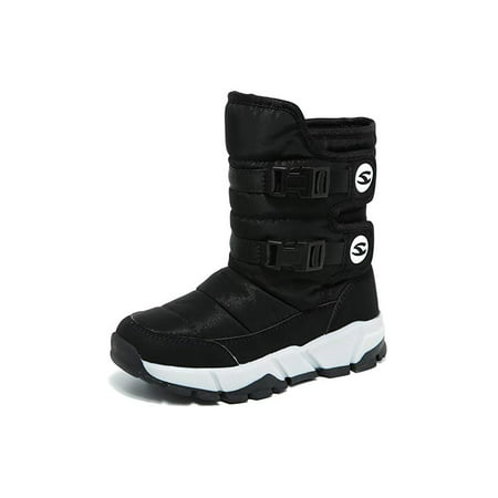 Snow Boots Winter Waterproof Ultra Warm Cold Weather Shoes for Boys and Girls(Toddler/Little Kid/Big Kid)